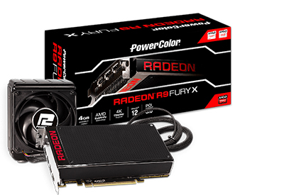 PowerColor R9 Fury X 4GB HBM Graphics Card Released