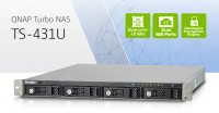 QNAP TS-431U 4-bay Dual-core Turbo NAS Introduced