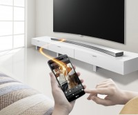 LG Music Flow HS8 Wireless Curved Sound Bar Introduced