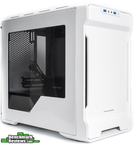 Phanteks Enthoo Evolv ITX SE White Black Exterior