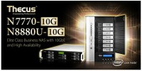 Thecus N7770-10G and N8880U-10G NAS Launched