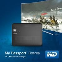 WD My Passport Cinema 4K Ultra HD Movie Storage Device Announced