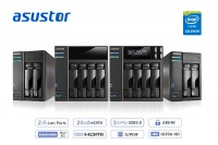 ASUSTOR AS6202T, AS6204T, AS6102T and AS6104T NAS Devices Introduced