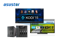 ASUSTOR First in the Industry to Support Brand-New Kodi 15