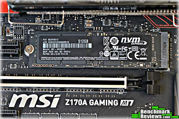 Samsung SSD 950 PRO M 2 NVMe Solid State Drive Review