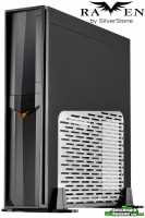 SilverStone-Raven-RVZ02B-W-Case-Front-Angled-Alternate-With-Logo