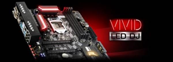 BIOSTAR VIVID LED DJ Motherboard Feature Introduced