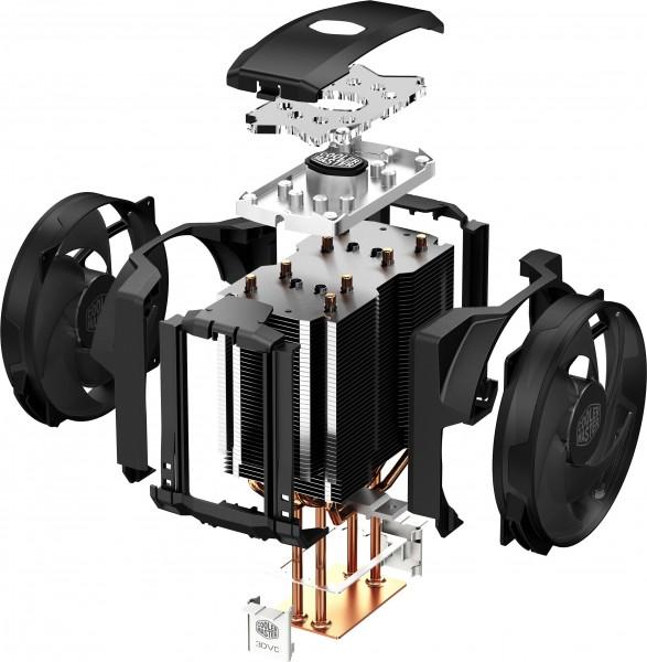 Cooler-Master-MasterAir-Maker-8-Heatsink-Exploded