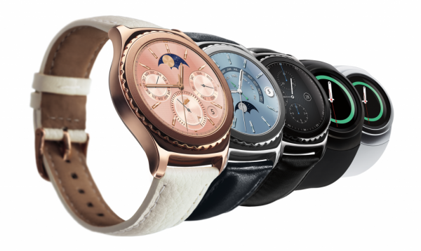 Samsung Gear S2 Classic Rose Gold Edition Smartwatch Unveiled