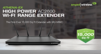 Amped Wireless ATHENA-EX AC2600 Range Extender Introduced