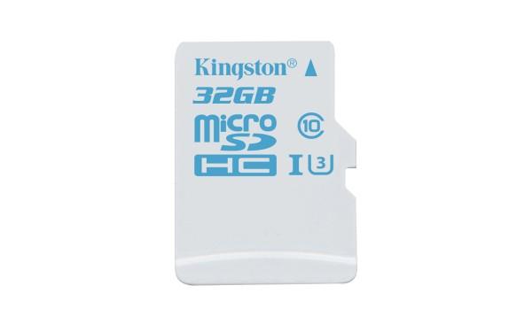 Kingston Digital microSD Action Camera UHS-I U3 Card Launched