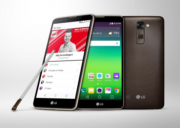 LG Stylus 2 Smartphone with DAB+ Unveiled