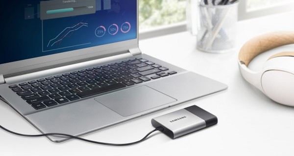 Samsung Portable SSD T3 External Solid State Drive Released
