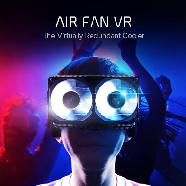 CRYORIG Air Fan VR Cooler Unveiled