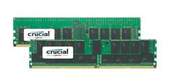 Crucial 32GB DDR4 16Gb-based VLP RDIMM and 64GB DDR4 16Gb-based LRDIMM Server Memory Announced