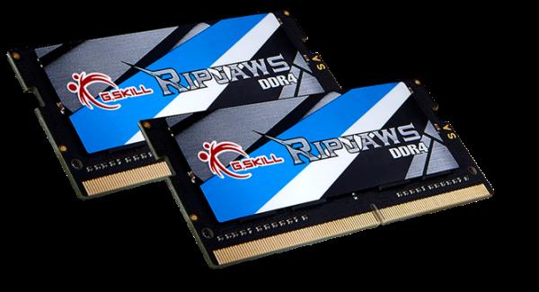 G.SKILL Ripjaws DDR4-3000MHz CL16 32GB 1.2V SO-DIMM Memory Announced