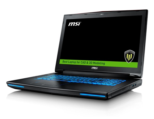 MSI WT72 Workstation Introduced