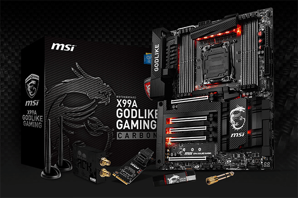 MSI X99A GODLIKE GAMING CARBON Motherboard Released