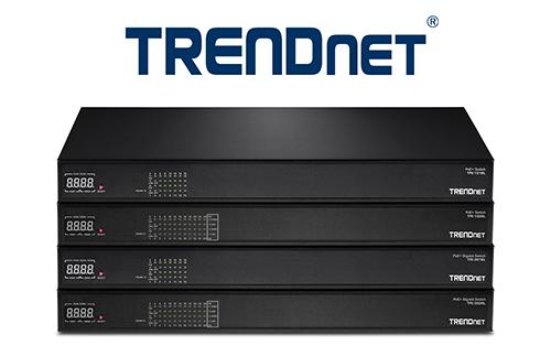 TRENDnet PoE+ AV Series Switch Line Launched