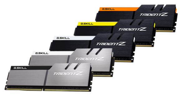 G.SKILL Trident Z Series DDR4 Memory Color Schemes Introduced