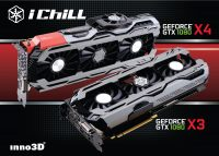 Inno3D GamingOC and iChiLL GeForce GTX 1080 Graphics Cards Introduced