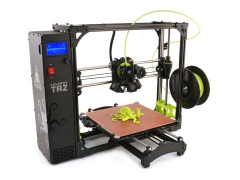 LulzBot TAZ 6 Desktop 3D Printer Released