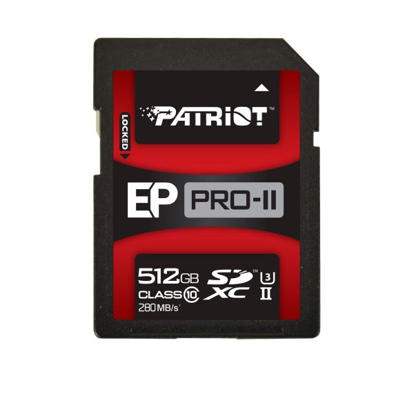 Patriot EP PRO-II SD and MicroSDXC Cards Released