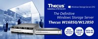 Thecus W12850 and W16850 Rackmount NAS Launched