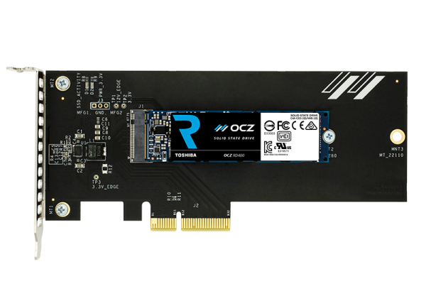 Toshiba OCZ RD400 NVMe SSD Launched