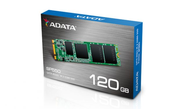 ADATA Premier SP550 M.2 2280 SATA 6Gb/s SSD Launched