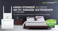 Amped Wireless High Power AC2600 Plug-In Wi-Fi Range Extender Announced