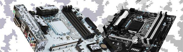 MSI B150M MORTAR ARCTIC & B150M BAZOOKA PLUS M-ATX GAMING motherboards Annouced