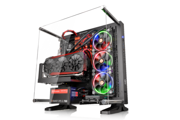 Thermaltake Core P3 ATX Wall Mount Panoramic Viewing Chassis Debuts