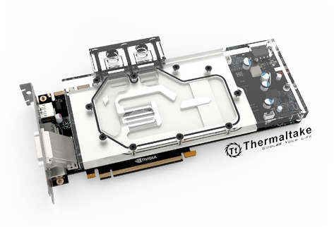 Thermaltake Pacific V-GTX 10 Series Founders Edition Transparent Water Block Debuts