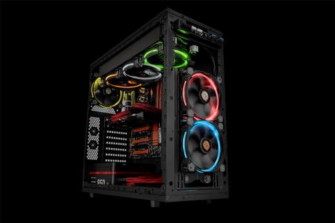 Thermaltake Riing 12 LED TT Premium Edition RGB Radiator Fan Introduced