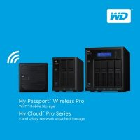 WD Pro Series My Passport Wireless Pro Wi-Fi Mobile Storage and My Cloud Pro Series NAS Launched