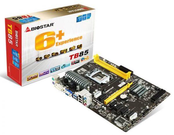 BIOSTAR TB85 Motherboard Released