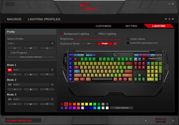 G.SKILL RIPJAWS KM780 RGB Mechanical Gaming Keyboard Software Update Announced