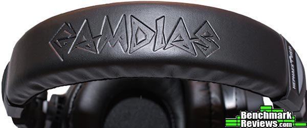 GAMDIAS logo headband