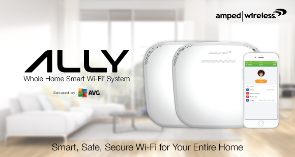 Amped Wireless ALLY Whole Home Smart Wi-Fi System Introduced