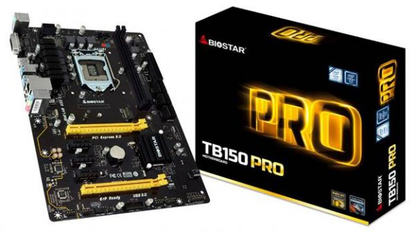 BIOSTAR TB150 PRO Motherboard Launched