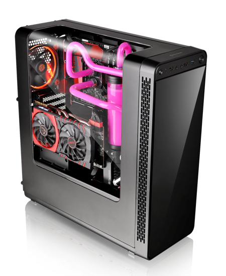 Thermaltake View 27 Gull-Wing Window ATX Mid-Tower Chassis Announced