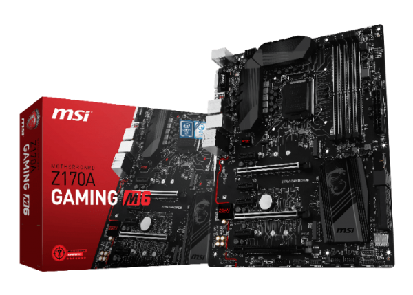 MSI Z170A GAMING M6 Motherboard Launched