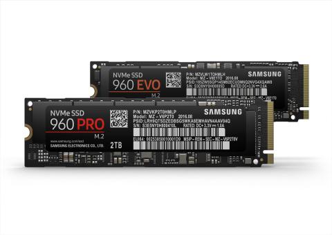 2TB Samsung 960 PRO M.2 NVMe SSD Revealed