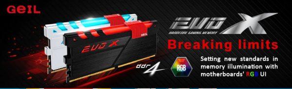 GeIL EVO X Series DDR4 Memory Module Announced