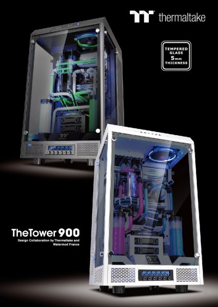 Thermaltake Project The Tower 900 TG Full Tower Panoramic Viewing Chassis Launched