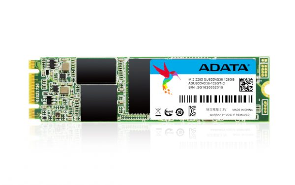 ADATA SU800 M.2 2280 SATA 6Gb/s 3D NAND SSD Unveiled