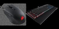 CORSAIR HARPOON RGB Gaming Mouse and K55 RGB Gaming Keyboard Announced