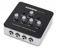 Samson QH4 4-Channel Compact Desktop Headphone Amplifier Launched