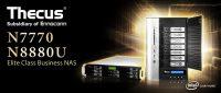 Thecus N7770 and N8880U NAS Released